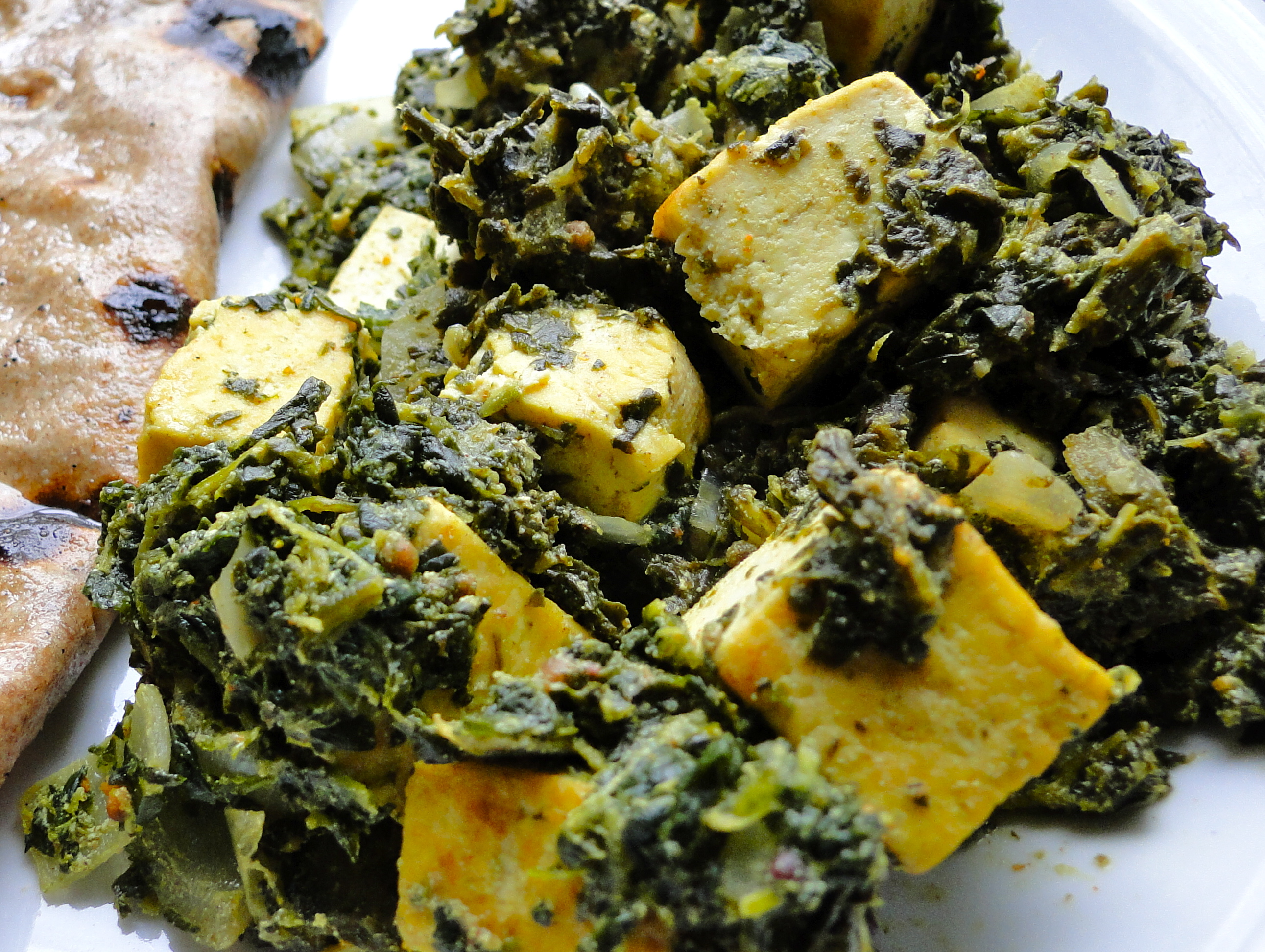 Saag With Tofu Recipes — Dishmaps